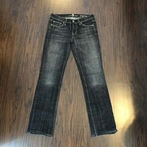 Seven For All Mankind Straight Leg Jeans Size 26